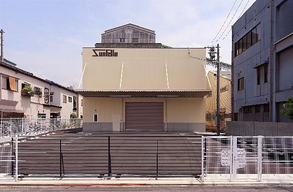 株式会社 サンポール工場新築工事