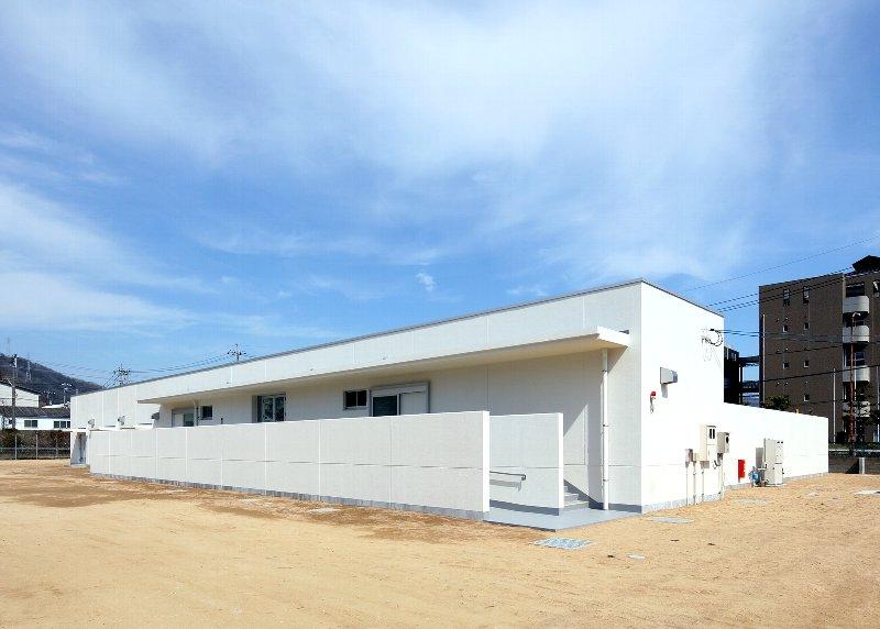 広島県呉南特別支援学校屋外プール新築工事