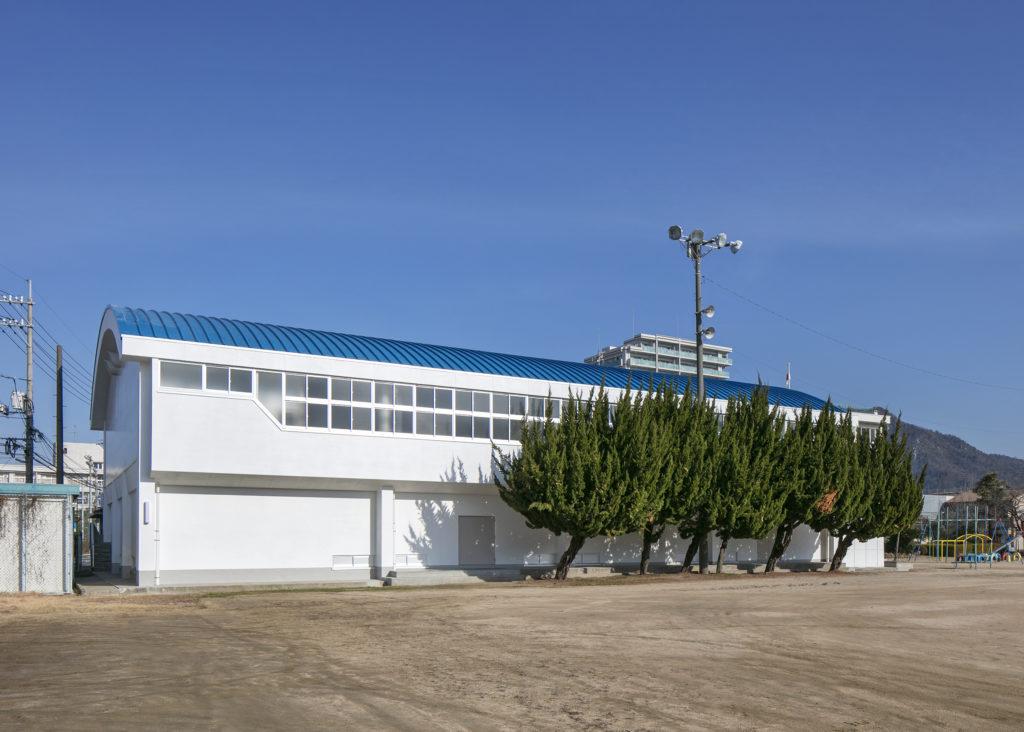 海田西小学校体育館非構造部材耐震補強等工事